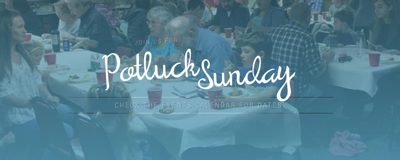 Potluck Sunday slider